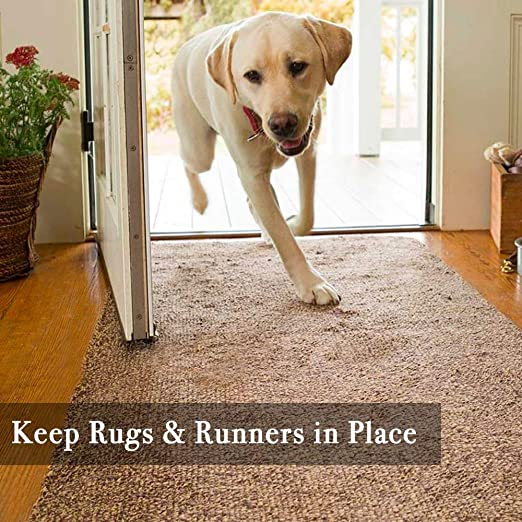 Rose Home Fashion RHF Non-Slip Area Rug Pad 5 x 7 Protect Floors While Securing Rug and Making Vacuuming Easier 5x7