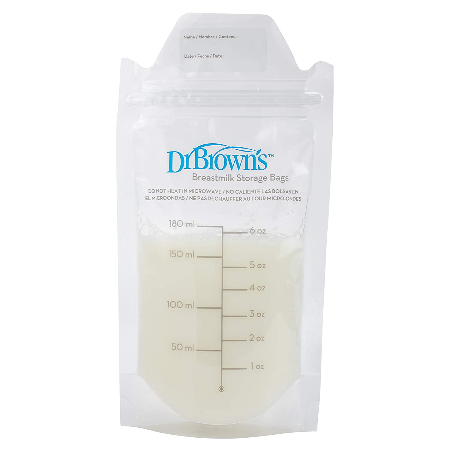 Dr. Browns Breastmilk Storage Bag, 50 Count
