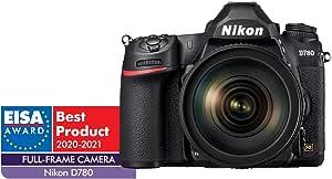 Nikon D780 + AF-S 24-120mm f/4 G Single Lens Kit, Black
