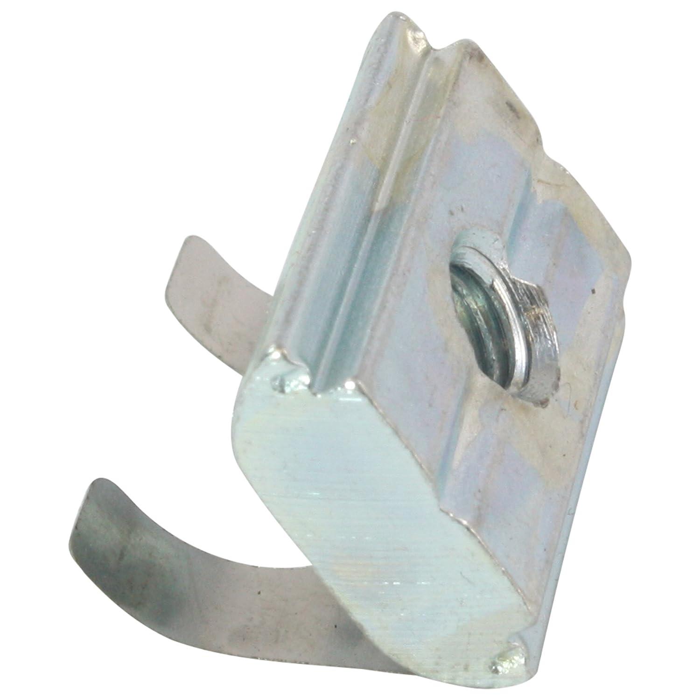 Federblech Stahl M5 mit Steg 100x Nutenstein einschwenkbar Nut 10 Typ B