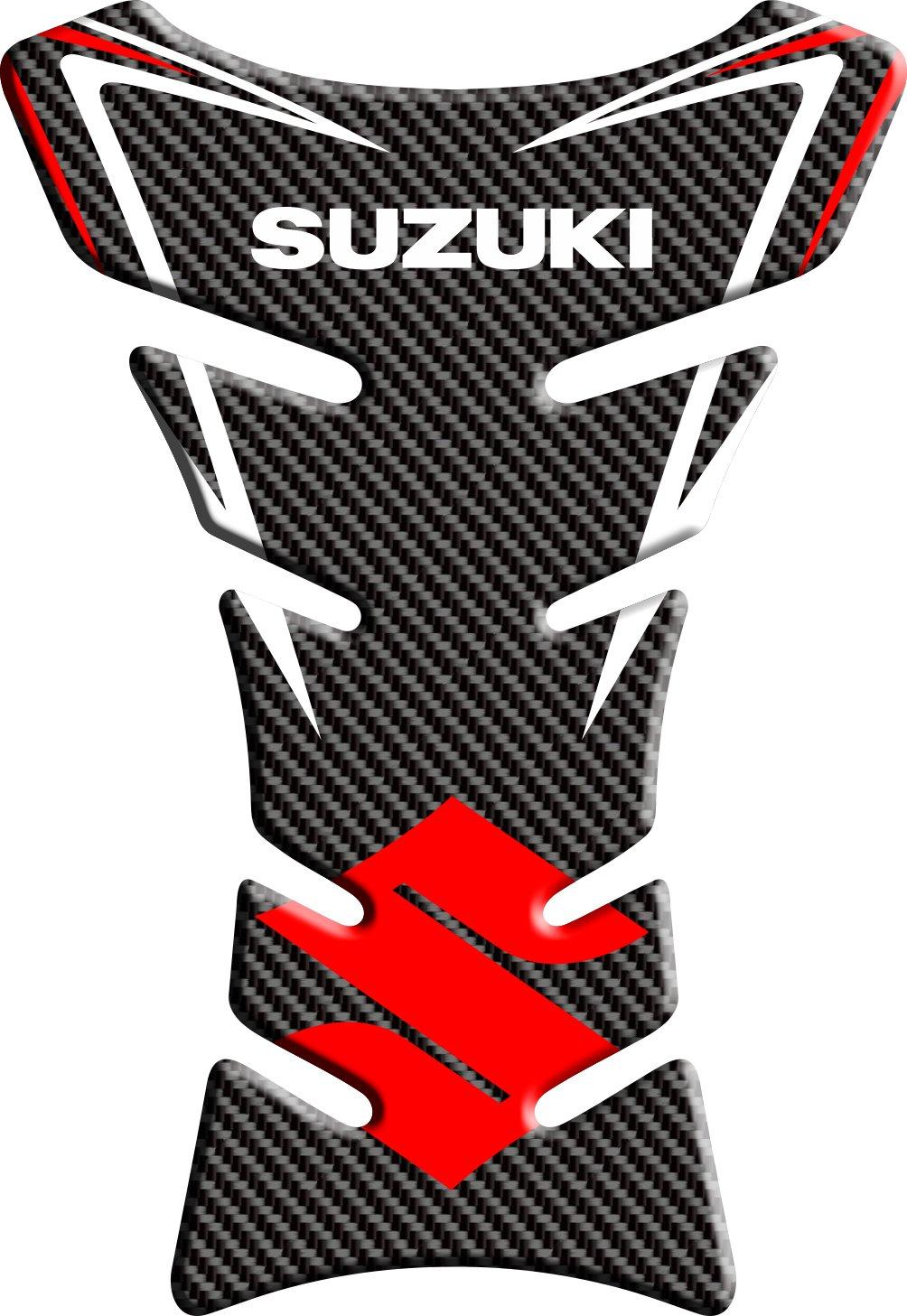Tankpad motorcycle wire pattern tank protection Suzuki 1/polymer 3D