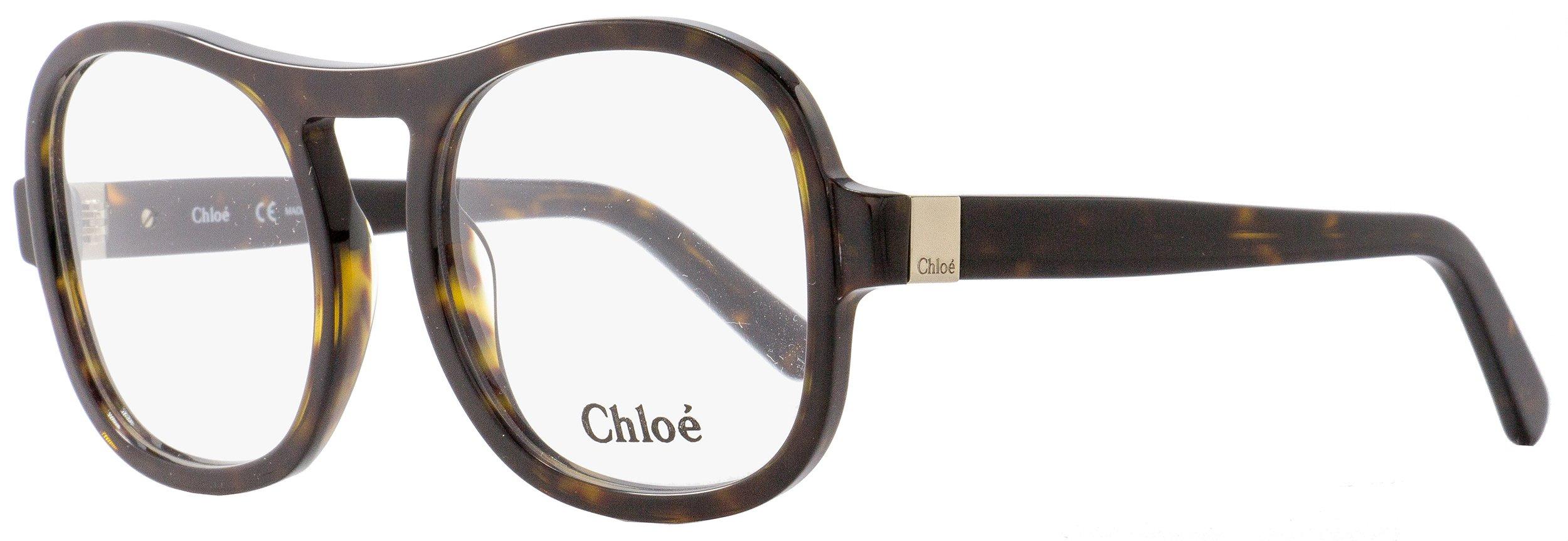 Chloe CE2698 219 Tortoise Rectangle Sunglasses by Chloe