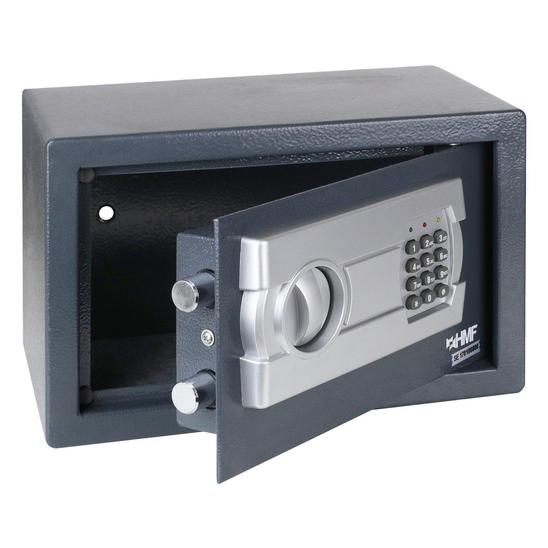 HMF 4612112 Möbeltresor Elektronikschloss 31,0 x 20,0 x 20,0 cm ...