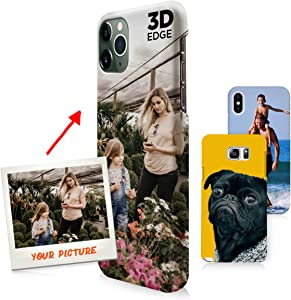 Samsung Galaxy S7 Case, Your Own Custom Photo 3D Matte Case Personalized Phone Cover