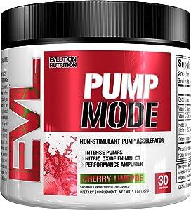 Pump Mode non-stimulant pump enhancer