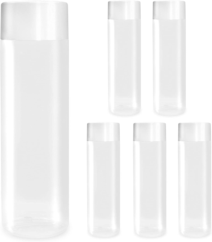 11.8 oz (350 mL) 6-Pack Empty Ultra Clear Plastic Bottles FDA Food Safe
