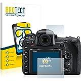 BROTECT AirGlass Protection Verre Flexible pour Nikon D500 Film Vitre Protection Ecran Transparence - Extra Résistant, Ultra-Léger, Clair