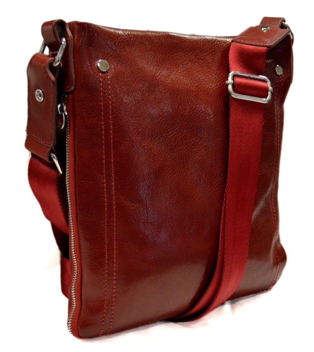 5cd0f04b00d3 Amazon.com  Leather shoulder bag mens women messenger leather satchel  crossbody leather postman bag red hobo bag sling leather bag new  Handmade