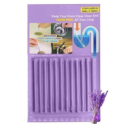 Amazon.com: Kitchen Sink Drain Cleaner Sticks - Shower Bathtub ...