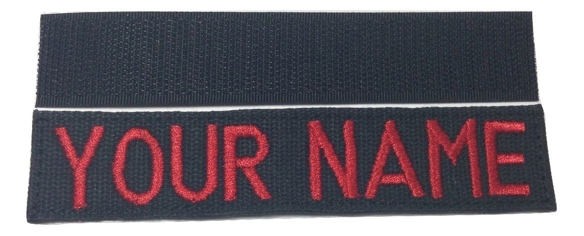 with Fastener or Sew-On US ARMY USAF USMC POLICE CivilAirPatrol Tape With Fastener, Desert Marpat Custom Military Name Tape