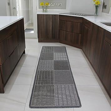 Tappeto per ingresso tessuto intrecciato sottile e robusto - Amazon tappeti ingresso ...
