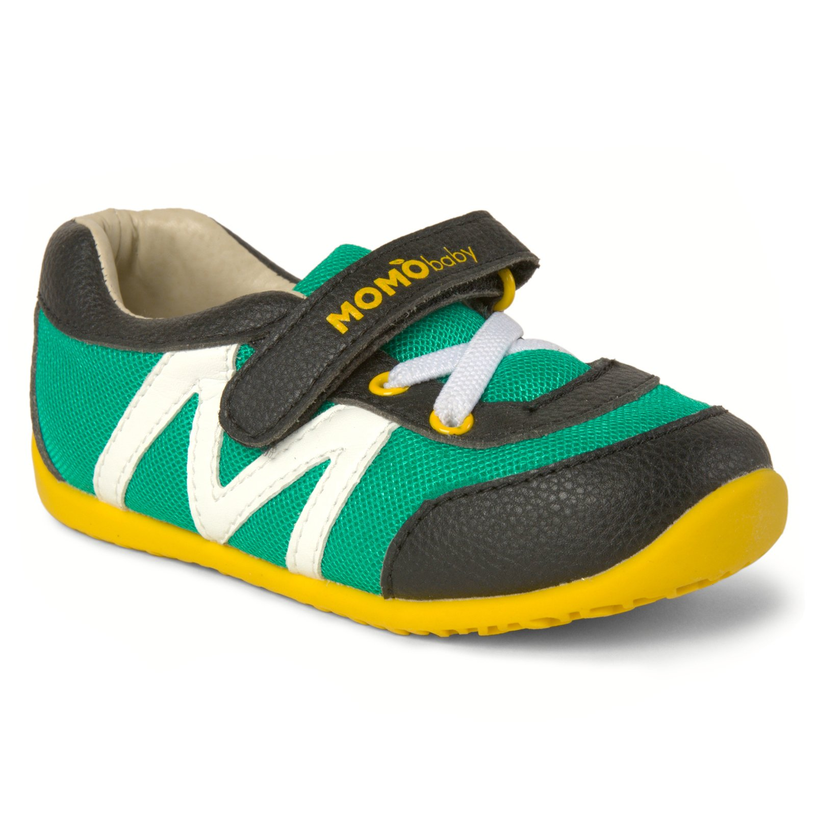 Momo Baby Boys First Walker/Toddler Hunter Sneaker Shoes - 6 M US Toddler