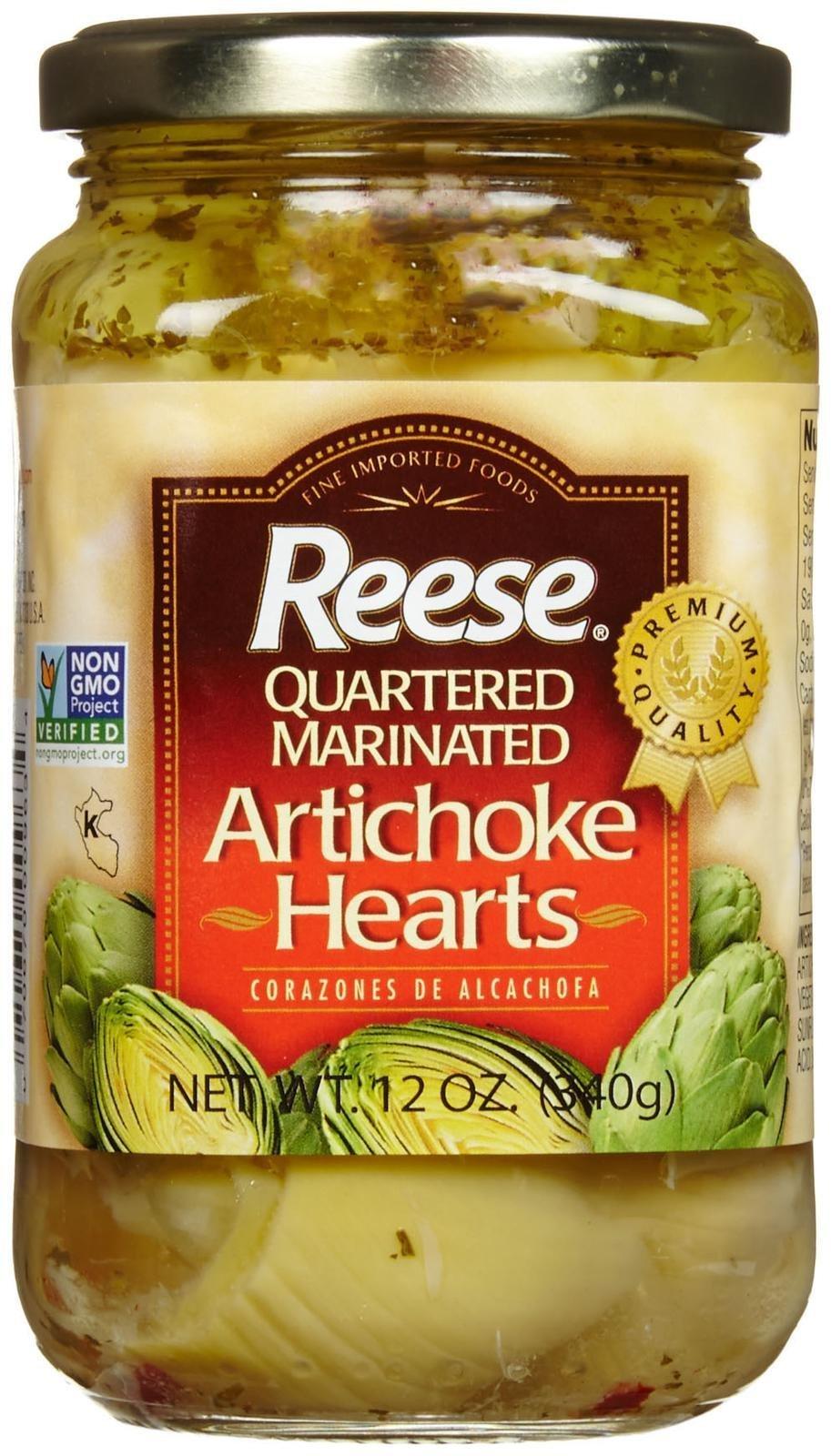 Reese Artichoke Marinated Hearts - 12 Ounces