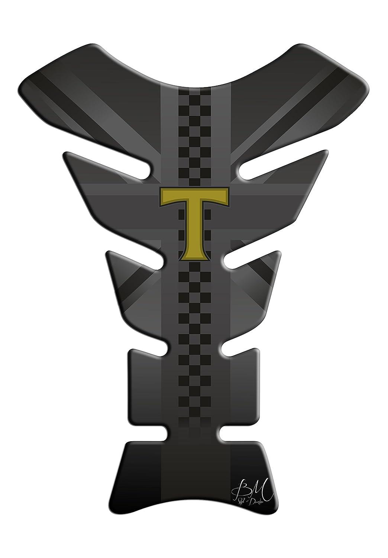 Protection de reservoir Moto MODELS en Gel compatible TRIUMPH Pad ré servoir 3D WORLDSELL
