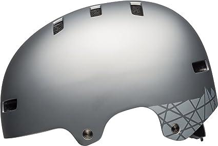 Bell Local BMX Dirt Fahrrad Helm grau 2020