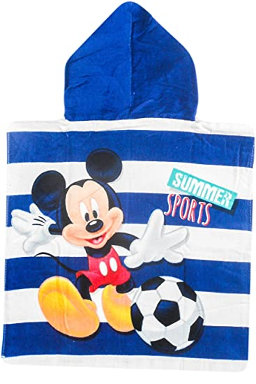 Poncho toalla Mickey Disney Football