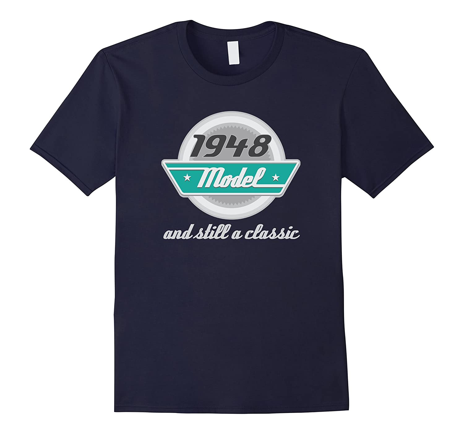 1948 Birth Year Vintage Birthday T-shirt Mens Funny Tee-TH