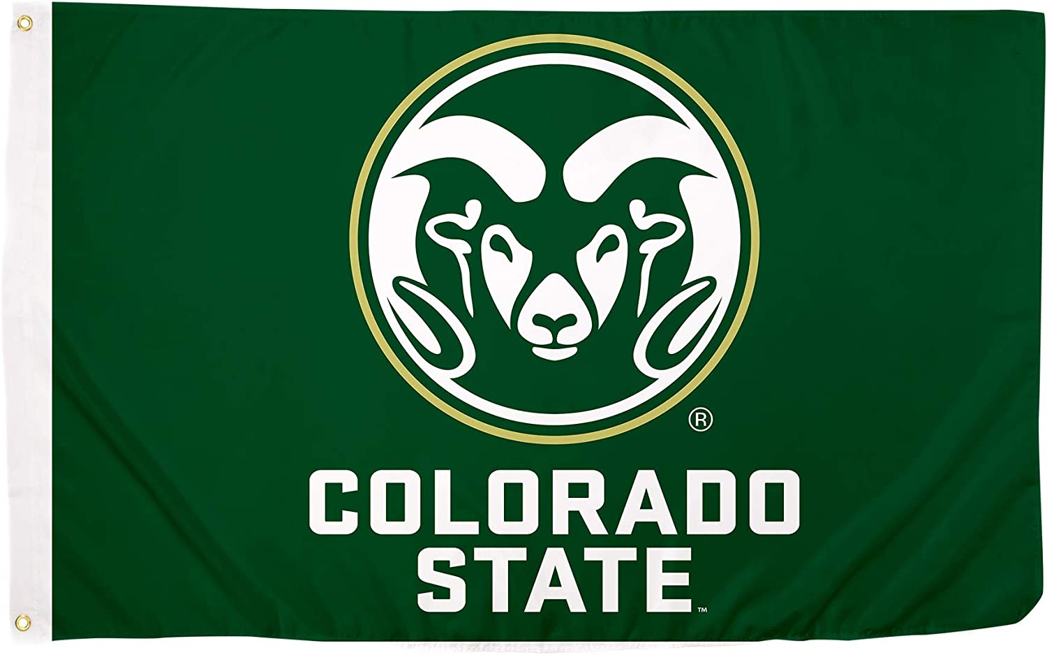 Desert Cactus Colorado State University CSU Rams NCAA 100% Polyester Indoor Outdoor 3 feet x 5 feet Flag