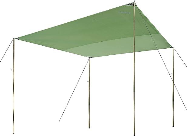 Campair Tarp S Toile De Tente Camping 300 X 300 Cm
