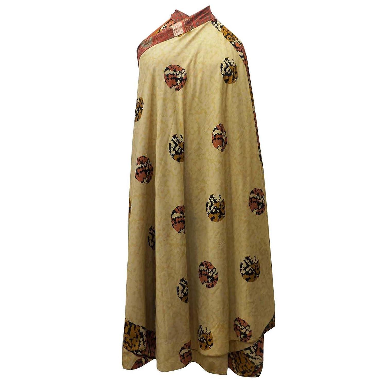 Weinlese-Kleid Polyester Magie Wickelrock plus Größe lange Halter Sari Sarong