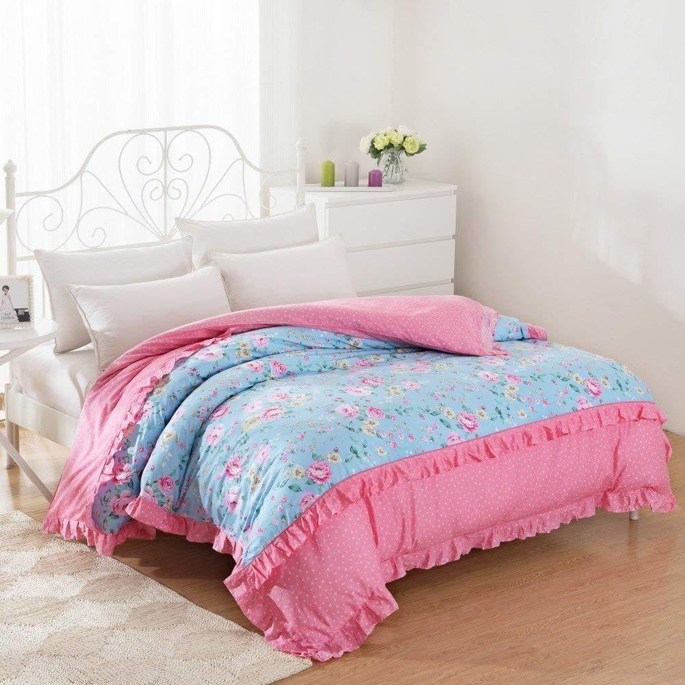 Yunyilian ベッドの裏地の綿のキルトカバーシングルピースカバー、シングルダブルベッドの項目 (Color : 180*220cm(71x87inch), サイズ : E) B07QLG8GT1 180*220cm(71x87inch) E