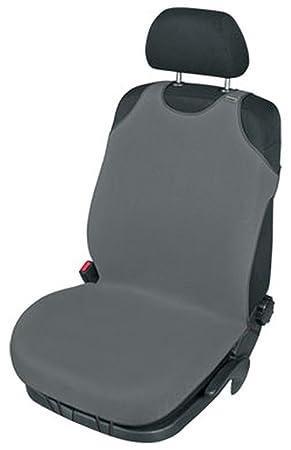 ZentimeX Z739991 Sitzbezug Einzelsitz T-Shirt-Design Baumwolle schwarz