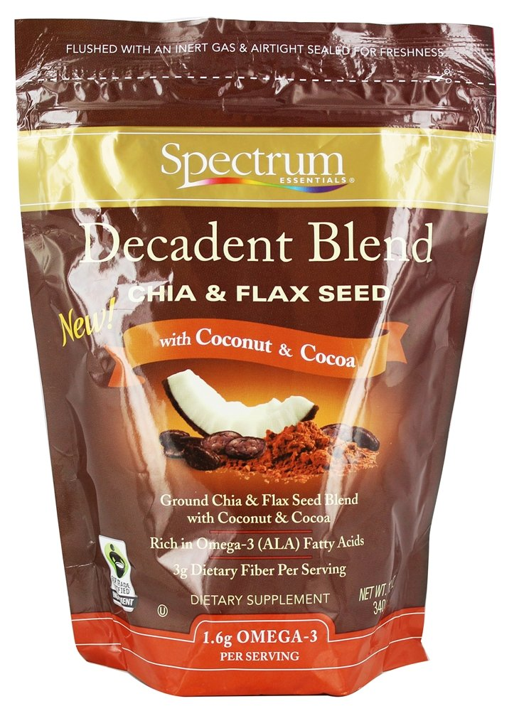 Spectrum Essentials - Chia & Flaxseed Decadent Blend - 12 oz