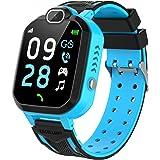 YENISEY Smartwatch Niño, Game Watch con Juego Cámara 100+ Fotos Música Despertador Modo Escuela Llamadas SOS Smart Watch…
