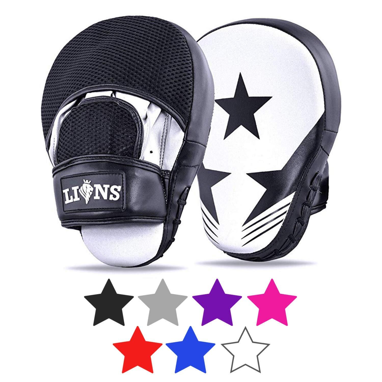 Lions Pattes d/'ours incurv/ées et gants de frappe pour entra/înement de boxe MMA