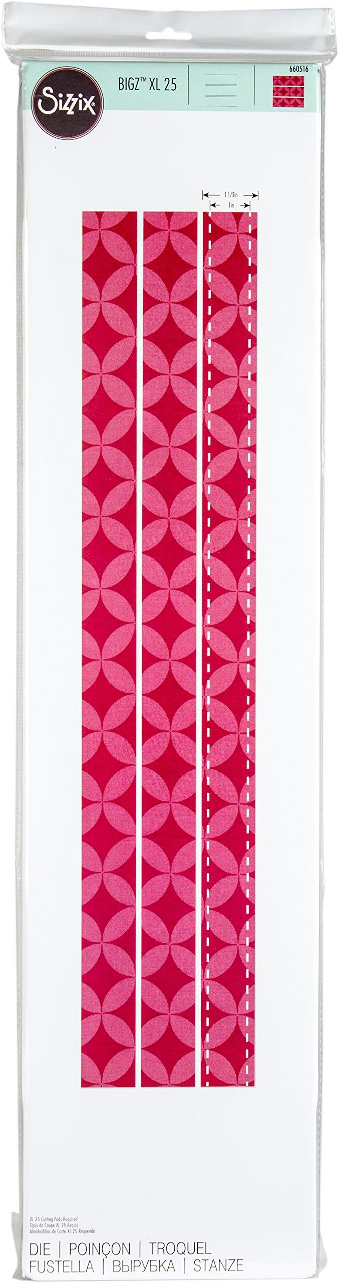 Sizzix 660516 Bigz Dies Fabi Edition XL Die Strips, Multicolor