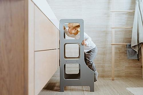 WERBUNG – Duck WoodWorks Küchenturm für Kinder