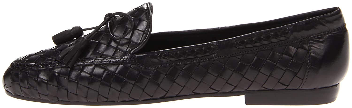 Sesto Meucci Women's Neda Slip-On Loafer Stained B000P4Y2CI 9.5 N US|Black Stained Loafer Calf 0d53bd