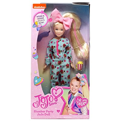 JoJo Siwa Slumber Party Doll: Toys & Games