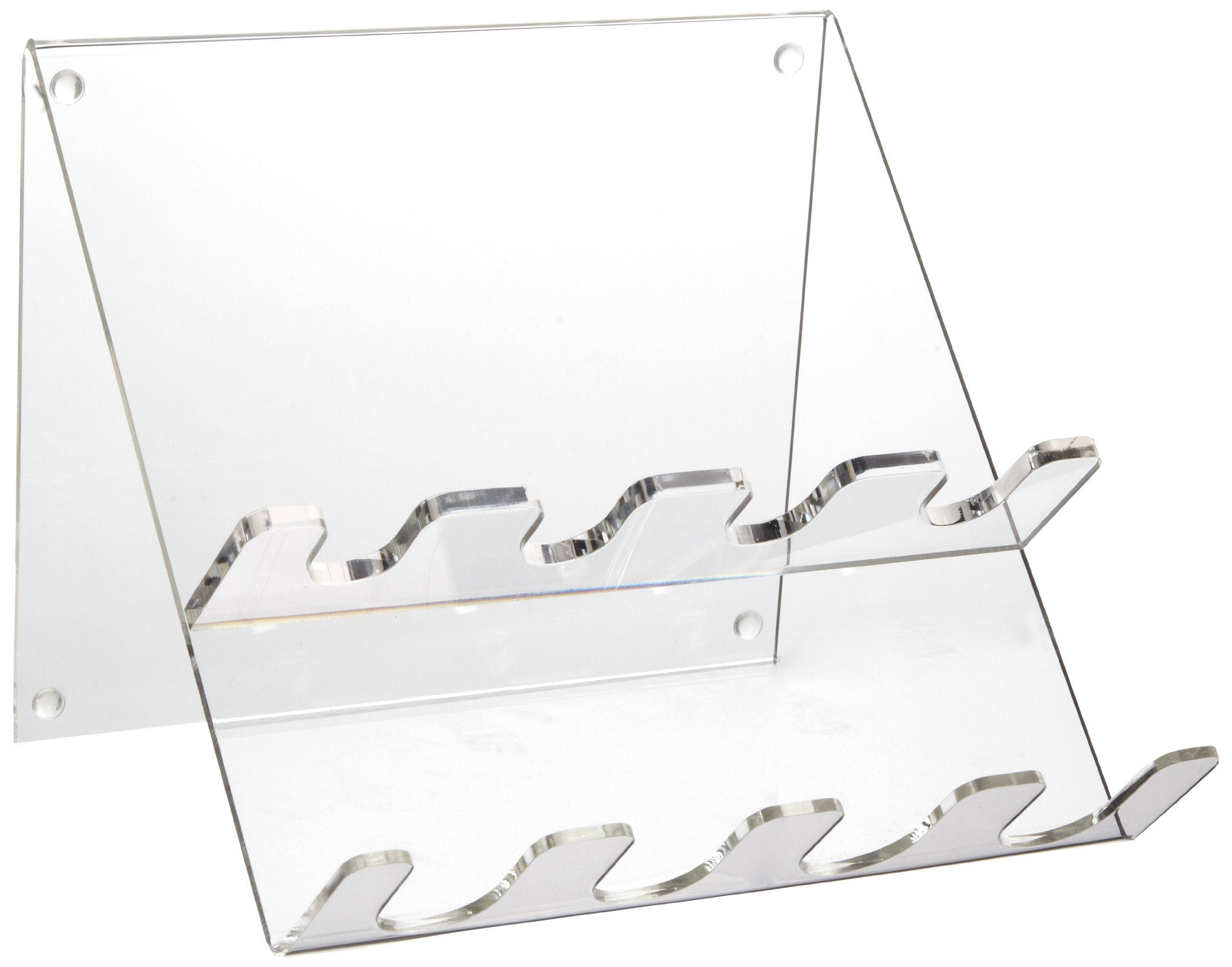 Heathrow Scientific HD206204 Clear Acrylic 4 Place Pipettor Station by Heathrow Scientific
