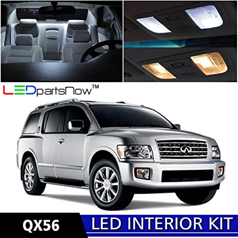 Amazon Ledpartsnow 2004 2010 Infiniti Qx56 Led Interior Lights