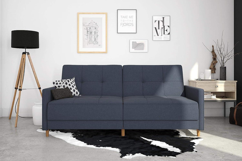 Amazon.com: DHP Andora Coil Futon - Sofá cama con diseño ...