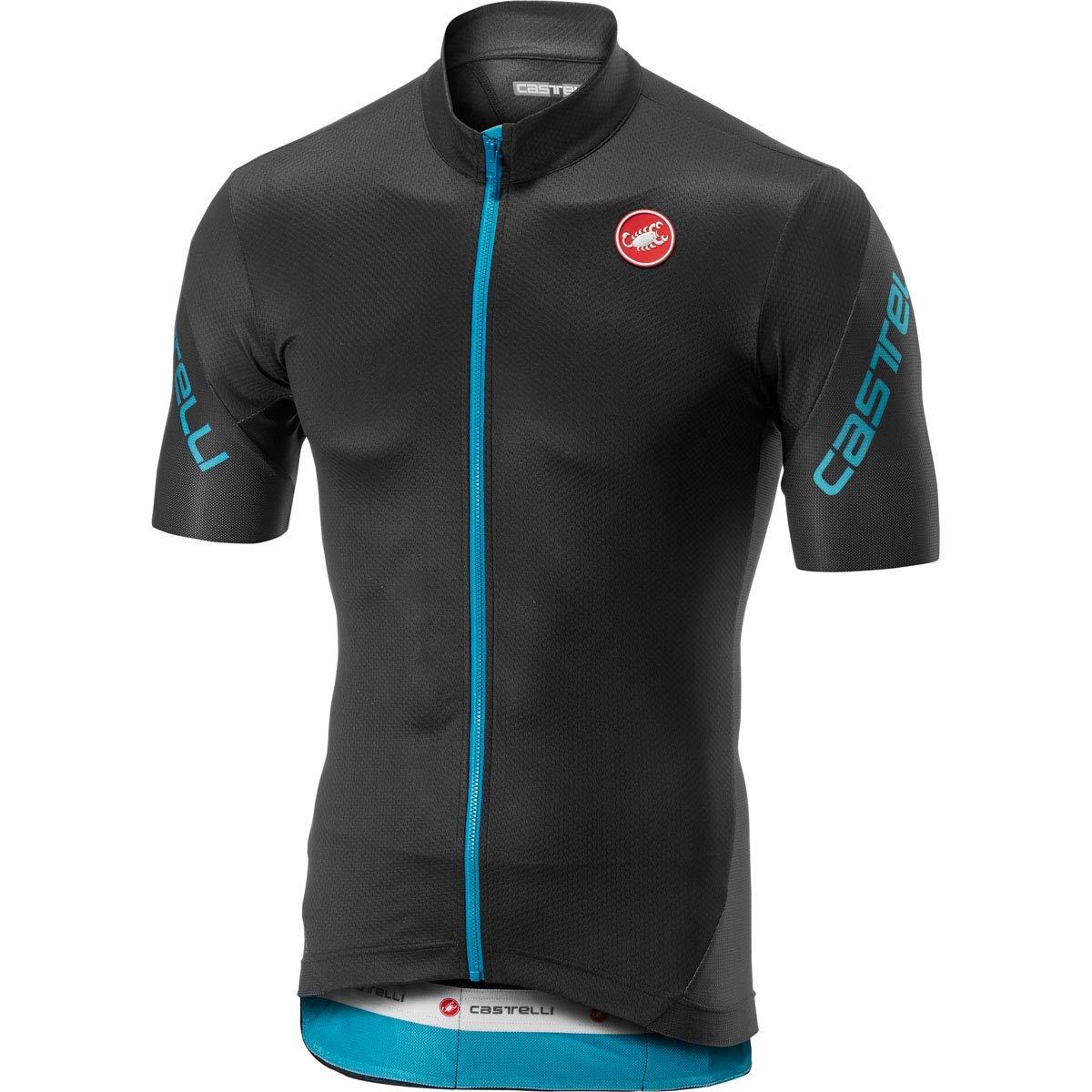 Amazon.com  Castelli Men s Entrata 3 Full Zip Bike Jersey  Sports   Outdoors d0cb48a80
