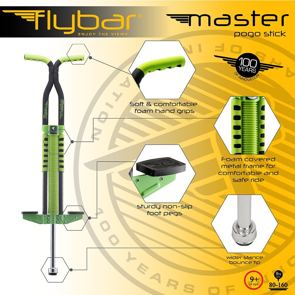 Flybar Master Pogo Stick- Green ... by Flybar (Image #2)