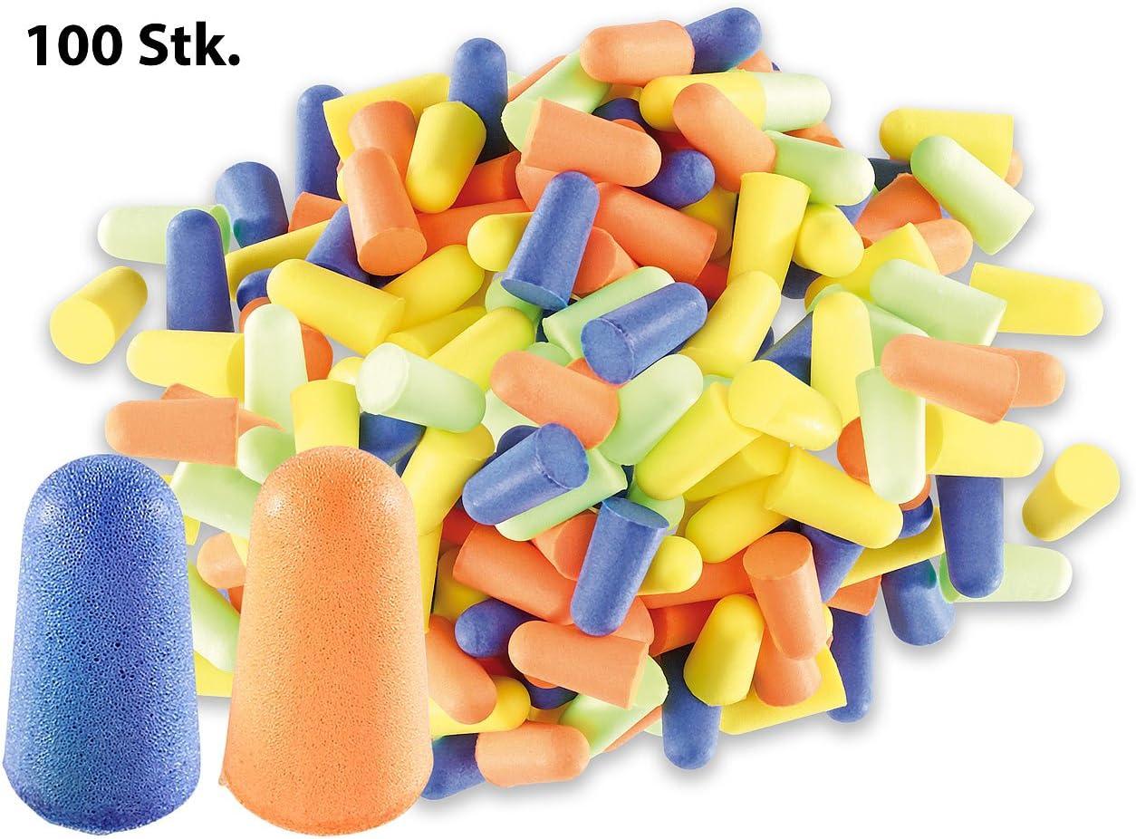 100 Stück 50 Paar Moldex orange Gehörschutz Ohrstöpsel Arbeit Festival 35dB NEU