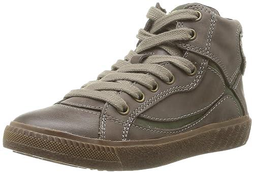 Geox J Tacos C - Zapatillas de Deporte de Cuero niño: Amazon.es: Zapatos y complementos
