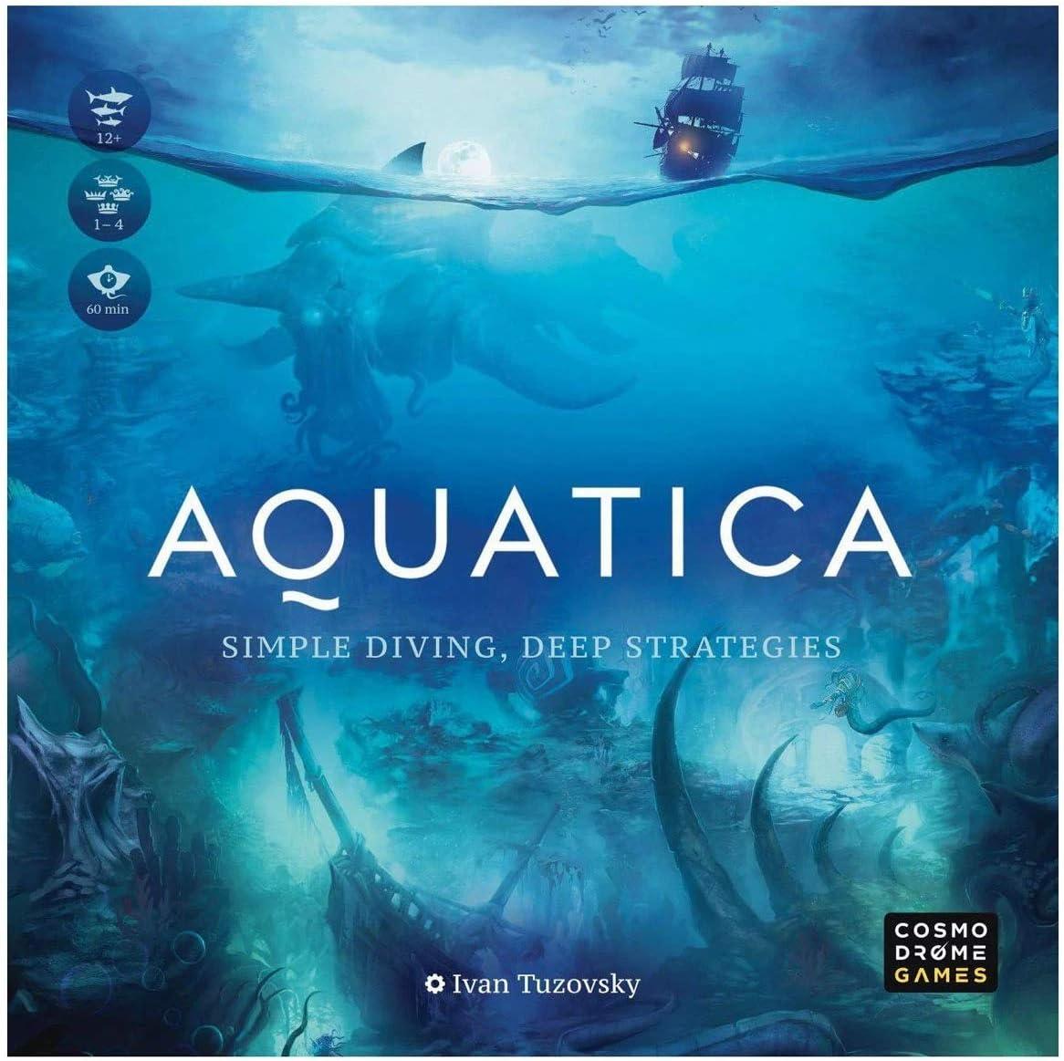 Arcane Wonders Aquatica Board Game