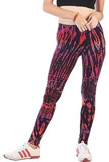 239244be7411a CandyHusky Women Tie Dye Yoga Pants Joggers Dance Workout Running Gym  Leggings