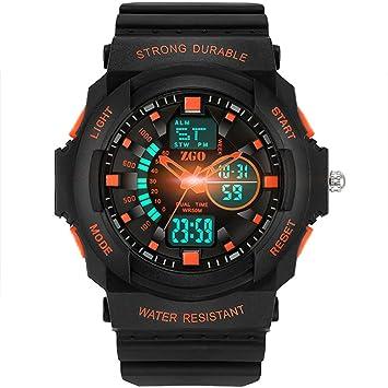 Reloj Digital Deportivo Para Niños - Relojes Deportivos Analógicos Impermeables Para Niños Con Alarma Reloj LED