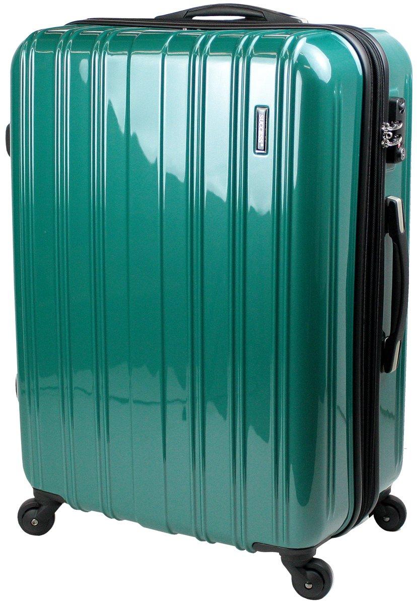【新品アウトレット商品】 【SUCCESS サクセス】 スーツケース 3サイズ( 大型  ジャスト型  中型 ) TSAロック 搭載 超軽量 レグノライト2020~ ミラー加工 キャリーバッグ … B07BS4TKPH 中型 Mサイズ 65cm|ブリリアントグリーン ブリリアントグリーン 中型 Mサイズ 65cm