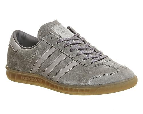 check out f5b86 be3f6 Adidas Hamburg Hombre Zapatillas Gris