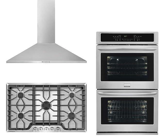 Amazon.com: Frigidaire FGGC3645QS - Cocina de acero ...