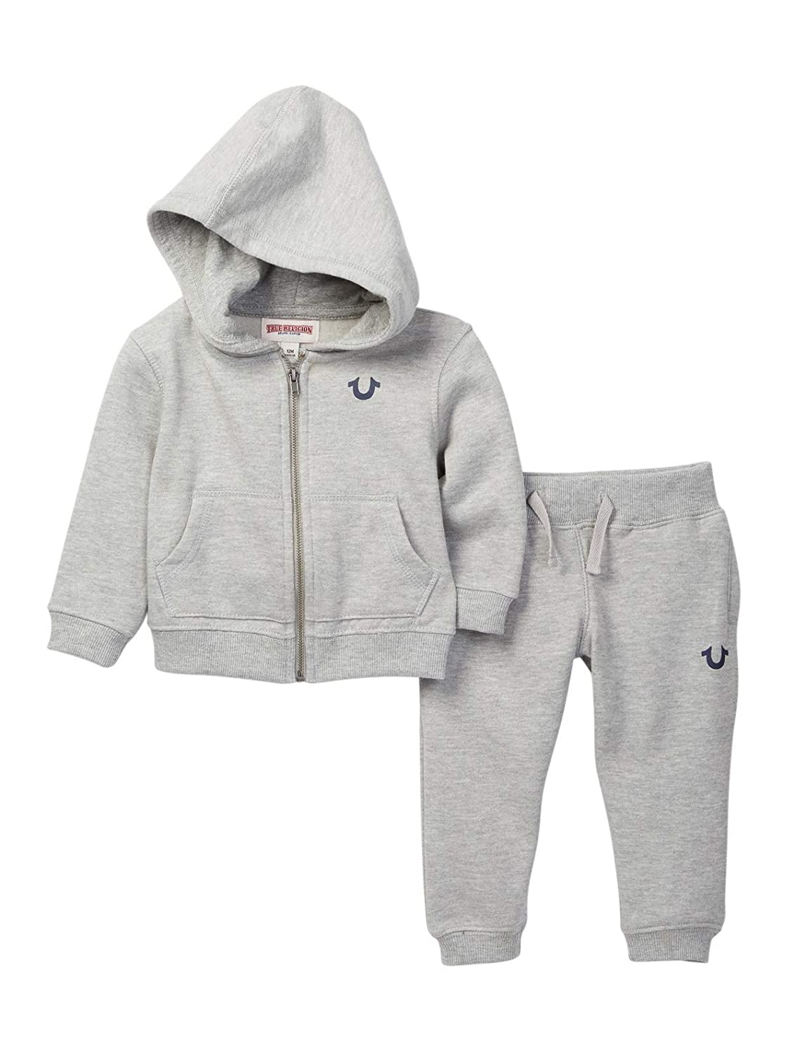 c203c719d Amazon.com  True Religion Baby and Toddler Boy s Hoodie   Sweatpants Set   Clothing