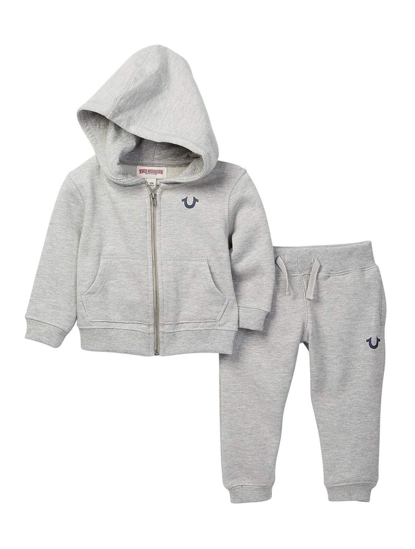 9cb913dda Amazon.com: True Religion Baby and Toddler Boy's Hoodie & Sweatpants Set:  Clothing