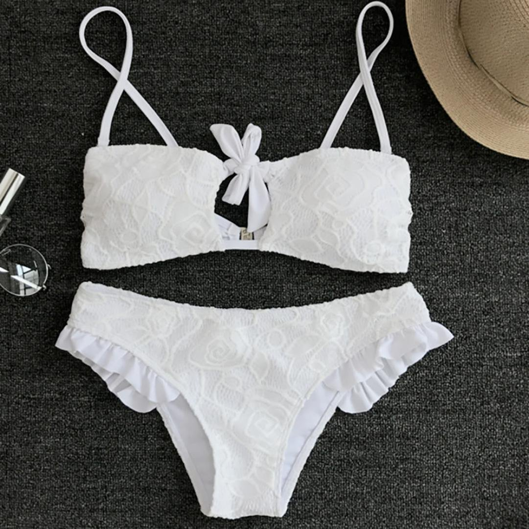 FAMILIZO Ropa de baño Traje De Baño Push up Bikini Sexy Mujer Push up Bra Bikini Verano Trajes de baño Tops y Braguitas Bikinis Conjuntos Bikini Mujer ...