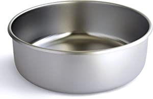 Basis Pet Made in The USA Stainless Steel Dog Bowl